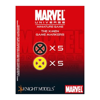 Marvel Universe Miniatures Game: The X-MEN Markers