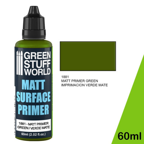 Matt Surface Primer 60ml - Green