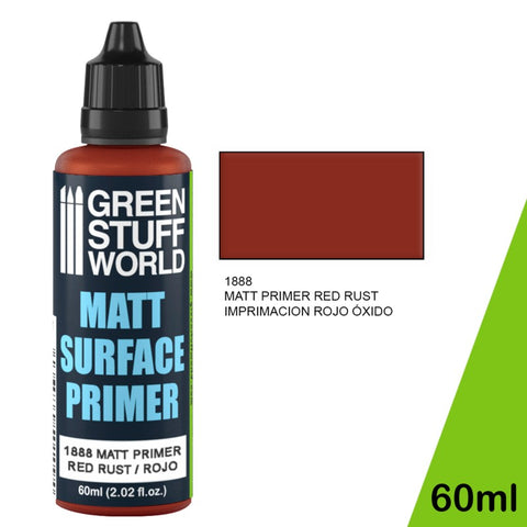 Matt Surface Primer 60ml - Red