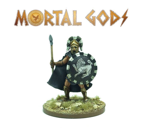 Mortal Gods - Heavy Lochagos 1 (metal) :www.mightylancergames.co.uk
