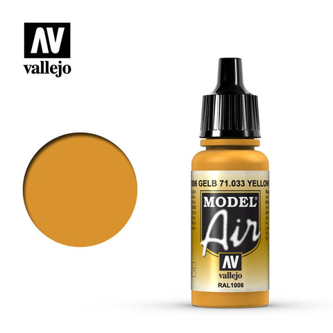 71.033 Yellow Ochre - Vallejo Air Paint