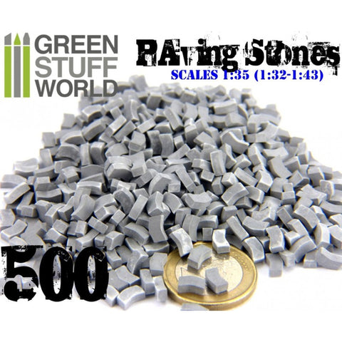 Model Paving Bricks - Grey -9209 - Green Stuff World