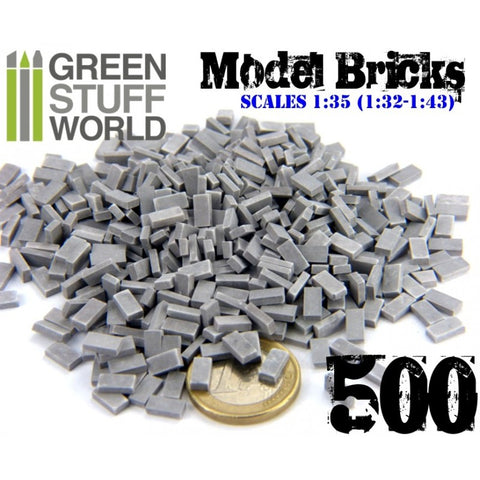 Model Bricks - Grey -9203 - Green Stuff World