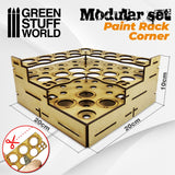 Modular Paint Rack - STRAIGHT CORNER -9847- Green Stuff World