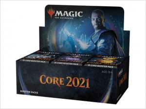 Core 2021 Draft Booster Display