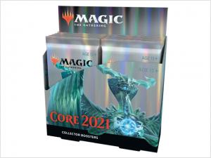 Core 2021 Collectors Booster display