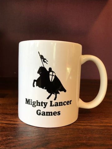 Mighty Lancer Games Mug