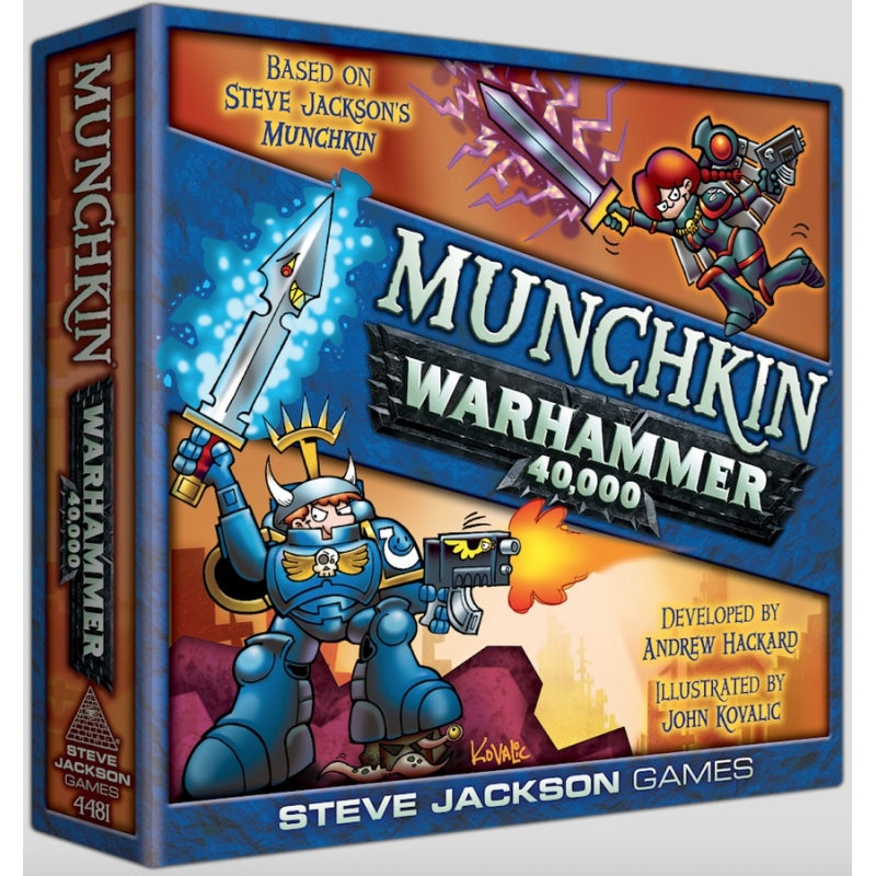 Munchkin Warhammer 40,000 from Mighty Lancer Games: www.mightylancergames.co.uk