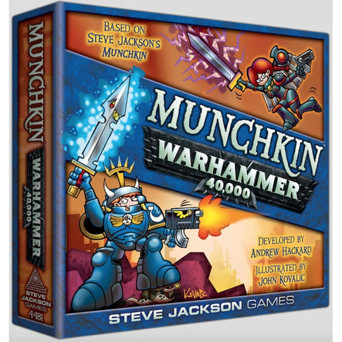 Munchkin Warhammer 40,000 from Mighty Lancer Games