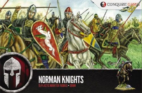Conquest Games: Norman Knights plastic boxed set