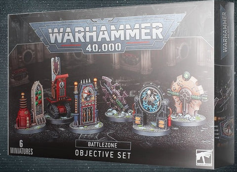 BATTLEZONE: MANUFACTORUM OBJECTIVE SET - Warhammer 40000 ****Pre-order for release on the 25th July 2020****