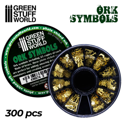 Ork Runes and Symbols - Green Stuff World - 2111