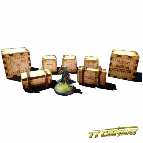 Crate Set - Old Town Scenics