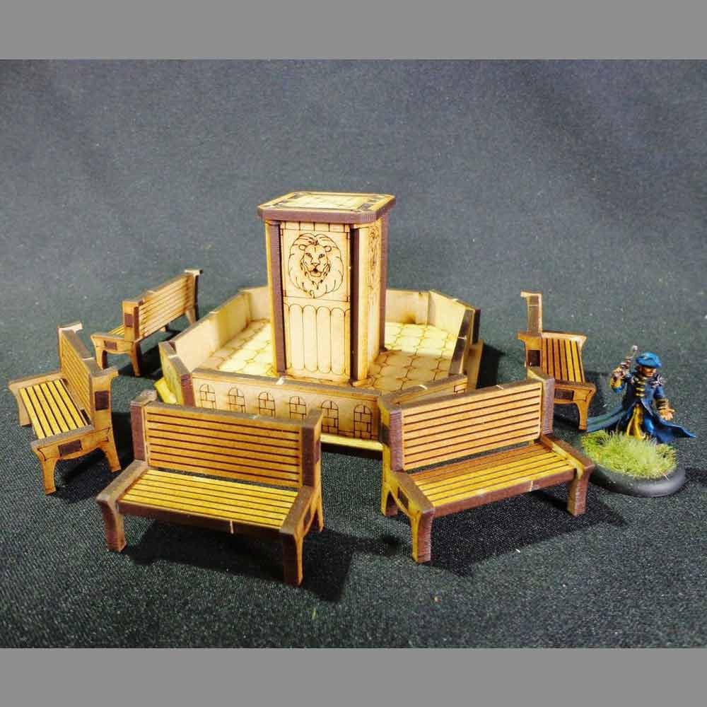 TT Combat: FOUNTAIN PARK SET