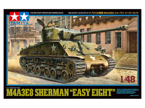 "Tamiya M4A3E8 Sherman ""Easy Eight"""