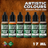 Paint Set - Brown- 10119- Green Stuff World
