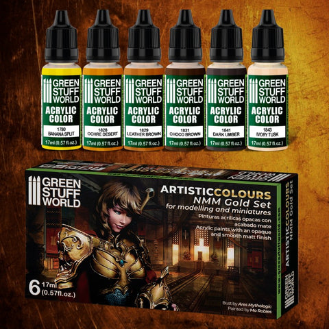 NMM Gold - Paint Set - GSW