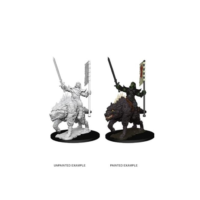 WizKids Pathfinder Battles Deep Cuts (Wave 7) - Orc on Dire Wolf 73547