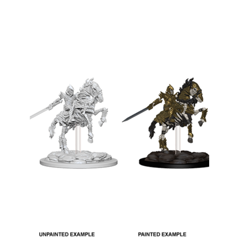 WizKids Pathfinder Deep Cuts Miniatures (Wave 5) - Skeleton Knight on Horse 73359