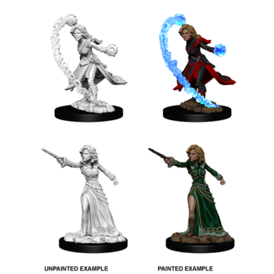 WizKids Pathfinder Deep Cuts Miniatures - Female Human Wizard 73412