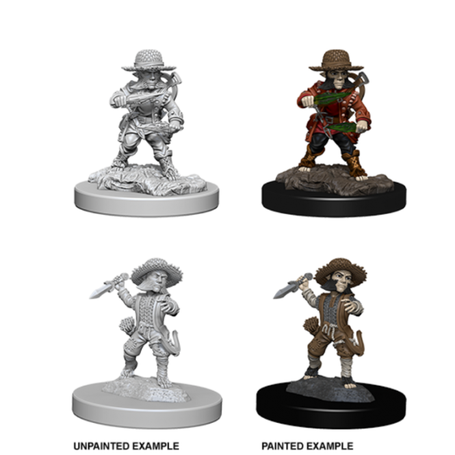 WizKids Pathfinder Deep Cuts Miniatures - Male Halfling Rogue 73407