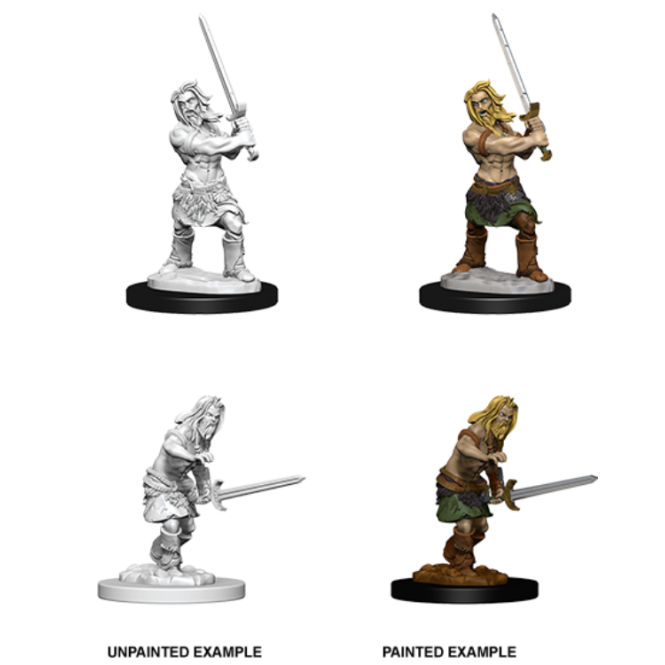 WizKids Pathfinder Deep Cuts Miniatures - Male Human Barbarian 73413