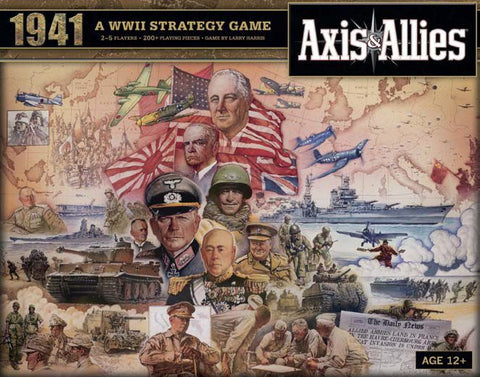 Axis & Allies 1941 A WWII Strategy Game