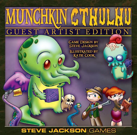 Muchkin - Cthulhu Guest Artist Edition: www.mightylancergames.co.uk