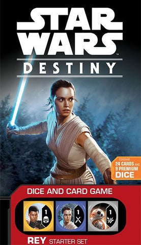 Star Wars: Destiny – Rey Starter Set  - Dice & Card Game