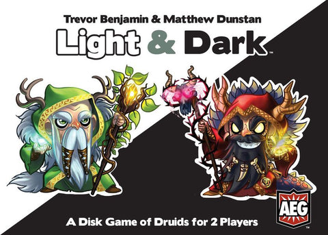 Light & Dark - A Disk Game of Druids: www.mightylancergames.co.uk