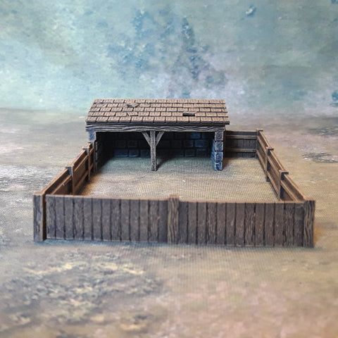Pig Sty (Irongate Scenery P131) :www.mightylancergames.co.uk