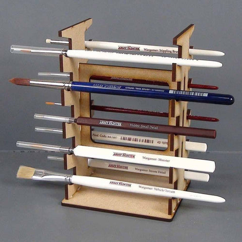 Paint Brush Rack - Tabletop Scenics TT combat