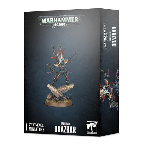 Drazhar, Master of Blades - Drukhari (Warhammer 40k) :www.mightylancergames.co.uk