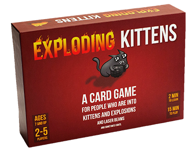 Exploding Kittens - Orginal Edition :www.mightylancergames.co.uk