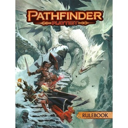 Pathfinder - Playtest Rulebook (Softback)