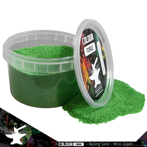 Basing Sand –Moss Green- Colour Forge -BAS202