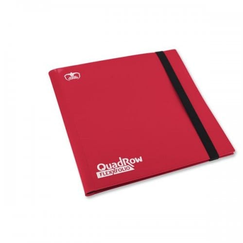 ULTIMATE GUARD QUADROW FLEXXFOLIO 12-POCKET - RED