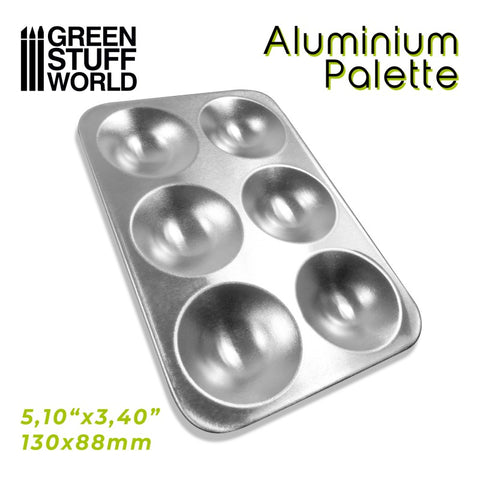 Rectangular Aluminium Mixing Palette (2499) - Green Stuff World