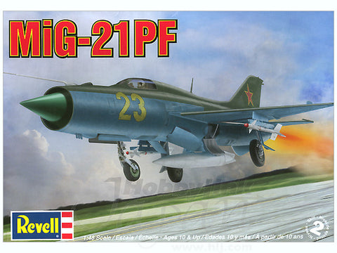 Revell 1/48 - MiG-21PF: www.mightylancergames.co.uk