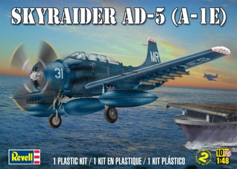 Revell 1/48 - Skyraider AD-5 (A1-E) :www.mightylancergames.co.uk
