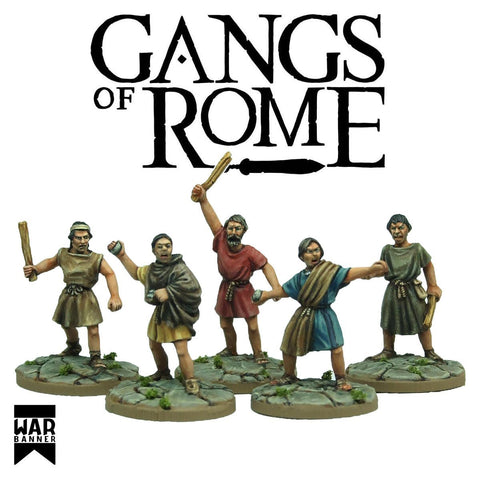 Gangs of Rome - Rioting Mob