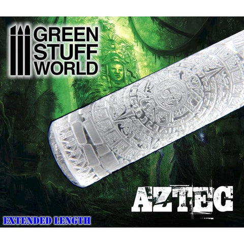 AZTEC - Rolling Pin - 1397 Green Stuff World