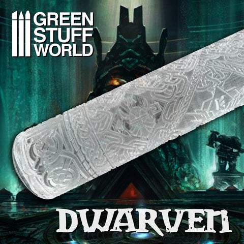 DWARVEN- Rolling Pin - Green Stuff World