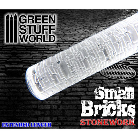 Small Bricks - Rolling Pin - 1376 Green Stuff World