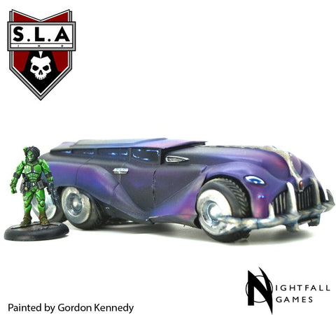 Romulus Limousine - S.L.A  Cannibal Sector :www.mightylancergames.co.uk