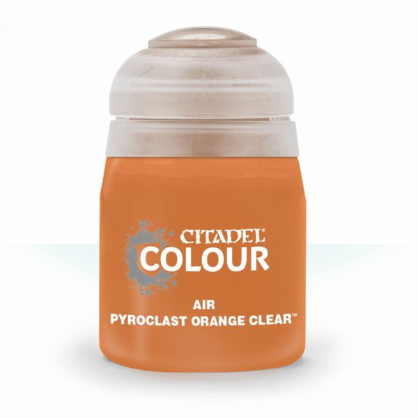 Citadel Air  - Pyroclast Orange Clear (24ml) :www.mightylancergames.co.uk