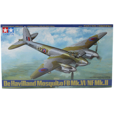 Tamiya 1/48 - De Havilland Mosquito FB Mk.VI/NF Mk.II: www,mightylancergames.co.uk