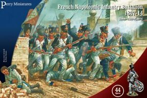 French Napoleonic Infantry Battalion 1807 - 1814 - Perry Miniatures (FN250) :www.mightylancergames.co.uk