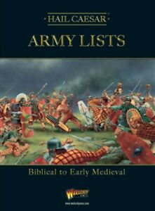Hail Caesar Army Lists - Late Antiquity to early Medieval :www.mightylancergames.co.uk