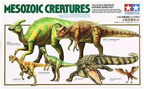 MESOZOIC CREATURES SET  - Tamiya (1/35) Model Kit